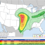 Severe Weather, Possibly With Tornadoes, Is Forecast for Plains States