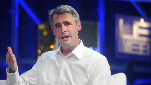 Mike McCue, chief executive officer of Flipboard.