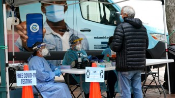 The U.S. reported its second-highest daily case total since the start of the pandemic.