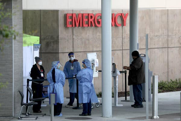 Covid Live Updates: As U.S. Death Toll Nears 600,000, the Counting Is Complicated